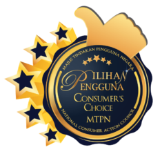 Best consumer award for ceiling fan in Malaysia